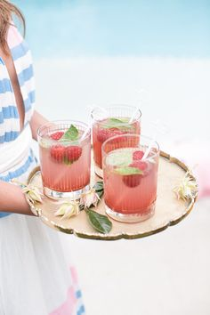 How To Throw A Summer Solstice Party // Summer Cocktails