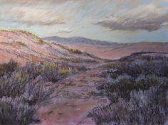 "Total Illusion Studio     Fine Art and Photography: ""Walk through the dunes"", pastel."