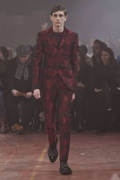 Alexander McQueen Fall/Winter 2015 - London Collections: MEN | Male Fashion Trends