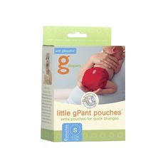 gDiapers Little gPant Pouches, Small (6 Count) We have enough gPants - just need the bum genius or flip inserts and these little pouches now!)