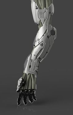 Cyberpunk Images (randomghost: Mechanical Arm (crop) by Frederic. Tattoos Bras, Science Fiction, Armadura Cosplay, Mechanical Arm, Robot Hand, Futuristic Armour, Sci Fi Armor, Character Design, Character Inspiration