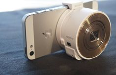 The QX10 Smartphone Attachable Lens-Style Camera...works with Android AND iPhone!