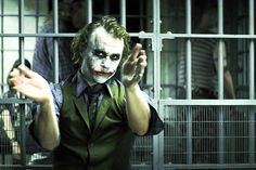 "Heath Ledger in ""Dark Knight"""
