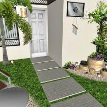 Cuanto cuesta y como hacer un jardín? Diseño - Trazo - Riego - Iluminación - Senderos - Plantas - Cesped