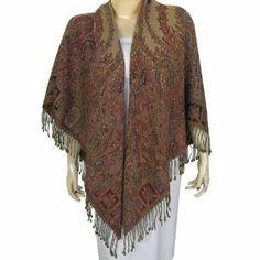 Square Scarves For Women India Clothing Antique Paisley Pattern Shawl Wool (Apparel)  http://xmarketer.com/view.php?p=B006K8KZGK  B006K8KZGK