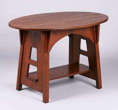 Limbert Cutout Oval Table