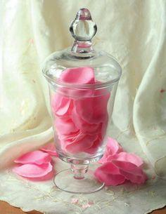 Rose soap petals
