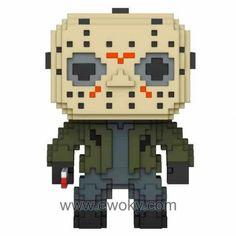 Figura Funko POP 8-Bit Horror Jason Voorhees 13 de3c3509fa0