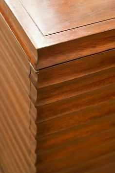 Color/tone of finish  -  Low Fluted Cabinet - Baker Furniture |