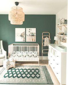 project nursery green Nurseries - My Website 2020 Nursery Twins, Baby Nursery Decor, Nursery Room, Green Nursery Girl, Nursery Ideas, Project Nursery, Baby Room Neutral, Nursery Neutral, Gender Neutral