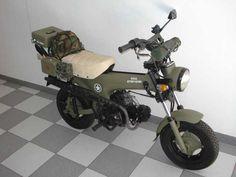 Transformación/restauración de mi Honda ST-70 (militarizada)