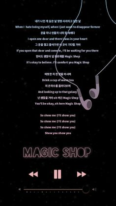I love magic shop and this also my favorite part:)))