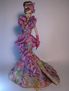 Barbie Purple Reflection Artist Creations Italian O.O.A.K. Fashion Dolls by Alessandro Gatti e Giuseppe De Bellis