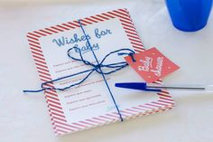 Wishes for baby - Nautic party kit by Uhlala!