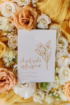 """From the editorial """"A Bosc Pear - AKA the Wedding Color Palette Inspiration We Never Knew We Needed."""" These dreamy, mustard blooms went perfectly with this magical wedding shoot! You can find the full gallery on SMP!  Photography: @sarahharrisphoto  #mustardflowers #uniquewedding #weddinginspiration #warmweddingcolors"""