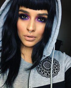 "Lora Arellano on Instagram: ""@mystery_clothing  Eyes&Lips@meltcosmetics  #meltnood #meltlovesick Lashes @sugarpill  heiress lash Blush @makeupgeekcosmetics spellbound Brows @kevynaucoinuk"""