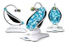 The Mamaroo ($200) is just plain awesome. It bounces and sways in multiple directions to mimic how you move when holding your baby, it has built-in nature sounds and also connects to your iPhone, and now it comes in cute patterns, too! It's a lifesaver for the first few months during those moments when you need two hands.  — Kate Stahl, contributing editor