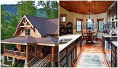 12 Amazing Holiday Getaways Under $100-Whittier, North Carolina-This cabin which can house 6 guests is located in the heart of the Great Smoky Mountains and on 2 acres of private property. The space comes with plenty of amenities so you won't even have to leave the space during your stay. But if you want to venture out, you can take a day trip to Asheville and visit the Biltmore estate, which is just a 40-minute car ride away. Rate: $100/night