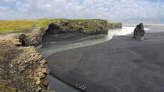 Best Unusual Beach: Vik, Iceland