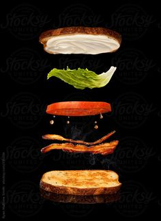 BLT sandwich by Ryan Matthew Smith