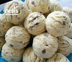 Dondurma Kaşığı Kurabiyesi((kesinlikle Tavsiyem)) Turkish Recipes, Ethnic Recipes, Muffin Recipes, Sweet Potato, Biscuits, Deserts, Food And Drink, Ice Cream, Cookies