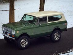 If I could have any 4x4, this would be the one I'd choose. 1974 International Scout.