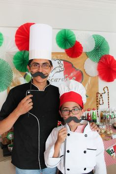 Italian Pizzeria Birthday Party via Kara's Party Ideas KarasPartyIdeas.com #pizzeriaparty (5)