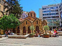 Kapnikarea church Walking Tour, Notre Dame, Barcelona Cathedral, Tours, Building, Travel, Greece, Viajes, Buildings