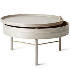404,95 e Menu Turning Table sohvapöytä, valkoinen tammi | Menu Turning Table | Pöydät | Huonekalut | Finnish Design Shop