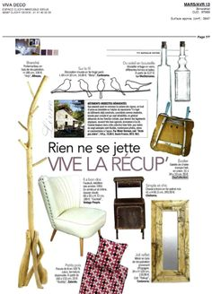 Daycollection, Viva Déco, mars avril 2013