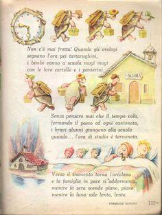 Italian Language, Classroom, Scrapbook, Seasons, Learning, Retro, School, Illustration, Books