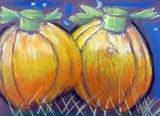 Artsonia Art Exhibit :: Pastel Pumpkins  highlights (light values), half tones (medium values), shadows (dark values)....using soft pastels