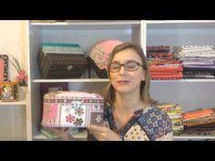 5 truques para forrar caixas com tecido - YouTube