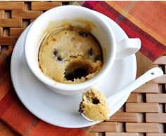 One Minute Chocolate Chip Cookie in a Mug [RECIPE]