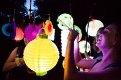 Atlanta BeltLine Lantern Parade -it's SO beautiful! A great thing in our city.