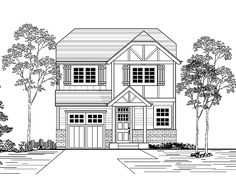 Eplans New American House Plan - Three Bedroom New American - 1450 Square Feet and 3 Bedrooms from Eplans - House Plan Code HWEPL67130