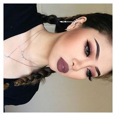Gigi Ng. @gg_luxious Lol I posted this...Instagram photo | Websta ❤ liked on Polyvore featuring makeup
