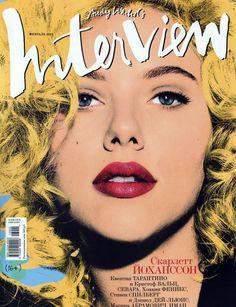 Scarlett Johansson for Interview Russia