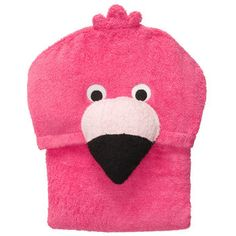 Flamingo Hooded Towel .. Pinning to remember to buy for Julie $12.00