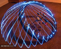 Dome Making (745×600). Light Painting