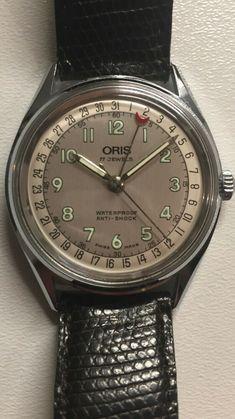 Oris Pointerdate Zeigerkalender Handaufzug Sammleruhr Vintage 1980er Rolex, Vintage, Ebay, Accessories, Elevator, Watch, Tag Watches