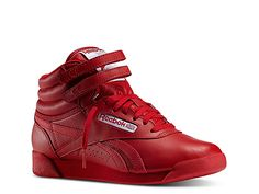 a5427fc7d2f3 Women Freestyle Hi High-Top Sneaker - Women s -Red