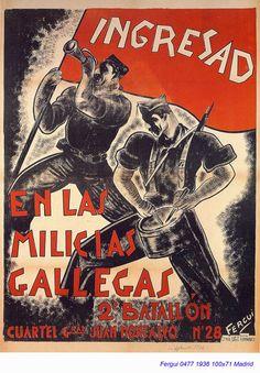Spain - 1936. - GC - poster - Fergui