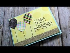 Simon Says Stamp Sept. 2016 Card Kit | Card #2 - YouTube