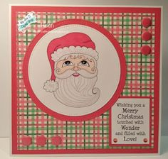 Using 'Starry Eyed Santa' from We Are 3 Digital Shop