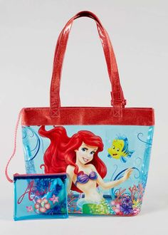 Kids Disney Ariel Swim Bag (35xm X 27cm) View 1