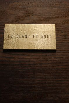 Brass Plate #54 - IRRE