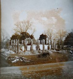 Uncle Sam plantation...during demolition...a tragic loss of plantation architecture.