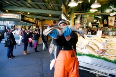 Pike Place Market in #Seattle | Checkout the scoop on local Seattle hotspots: http://apt.gd/1jJQ9IJ #washington #wa #neighborhoods