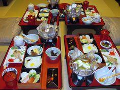 Traditional Ryokan Breakfast